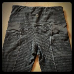 Army green lululemon joggers size 2